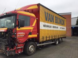 Front wheel Scania R series