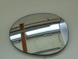 Outside Mirror Glass CITROËN C1 (PM_, PN_) used