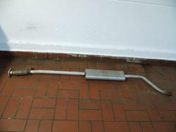 Middle Silencer FIAT PUNTO (188_) used