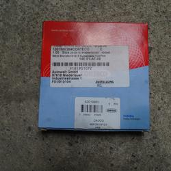 Crank Shaft Oil Seal FIAT DUCATO Pritsche/Fahrgestell (250_, 290_) Corteco 82019863 Dichtung