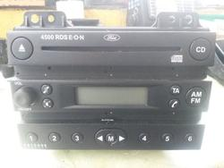 Radio Cassette Player FORD FUSION (JU_) used