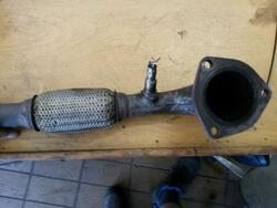 Exhaust Pipe CHEVROLET SPARK (M300)
