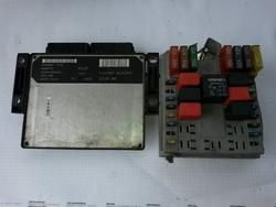 Diesel Injection System Control Unit FIAT PUNTO (188_) used