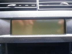 On Board Computer Display CITROËN C4 I (LC_) used