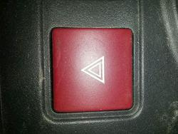 Hazard Warning Light Switch CITROËN BERLINGO (B9) used