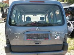 Rear Door CITROËN BERLINGO / BERLINGO FIRST Großraumlimousine (MF, GJK, GFK) used