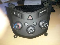 Air Conditioning Control Unit CHEVROLET AVEO Schrägheck (T300) used