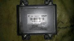 Engine Management Control Unit CHEVROLET AVEO Schrägheck (T300) used