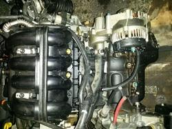 Bare Engine CHEVROLET AVEO Schrägheck (T250, T255) used