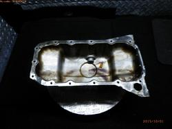 Oil Pan FORD FUSION (JU_) used