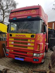 Front wheel Scania P series 01.1998-12.1998