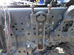 Holding Device Mercedes-Benz Actros MP 4 Konsole A9604910916