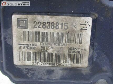 Abs Control Unit OPEL INSIGNIA A (G09) - Image 5