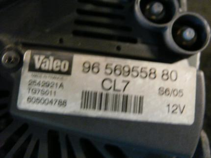 Alternator CITROËN C3 Pluriel (HB_) - Image 1