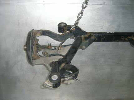 Axle Beam AUDI A4 Cabriolet (8H7, B6, 8HE, B7) used - Image 2