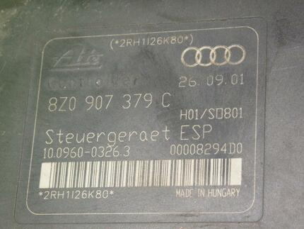 Abs Hydraulic Unit AUDI A2 (8Z0) - Image 3