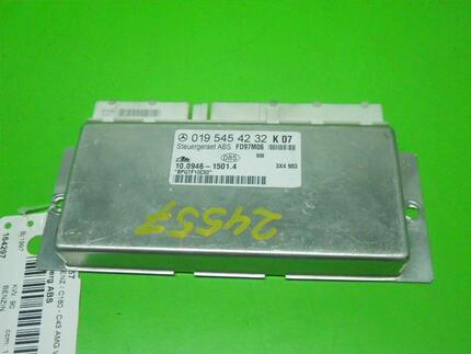 Abs Control Unit MERCEDES-BENZ C-KLASSE T-Model (S202) - Image 0