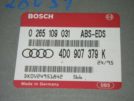 Abs Control Unit AUDI A4 (8D2, B5) used - Image 2