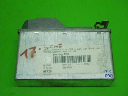 Abs Control Unit OPEL ASTRA F CC (T92) - Image 0