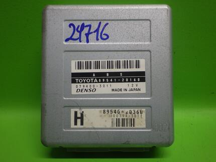 Abs Control Unit TOYOTA CELICA Coupe (_T20_) - Image 0
