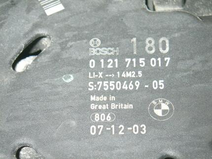 Alternator BMW 1 (E81) used - Image 3