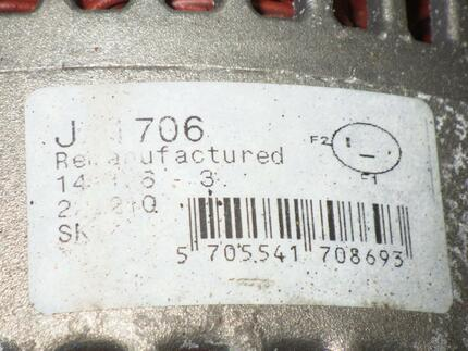 Alternator CHRYSLER VOYAGER / GRAND VOYAGER III (GS) used - Image 3